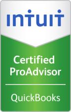 Certified Quickbooks ProAdvisor seal